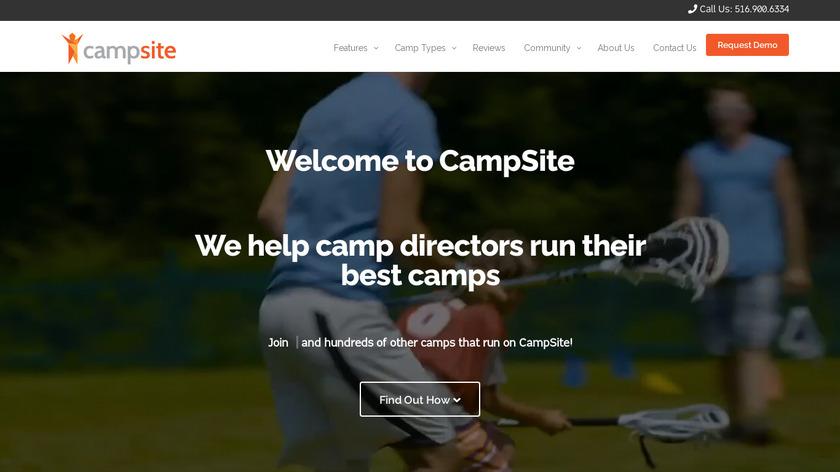 Campsite Landing Page
