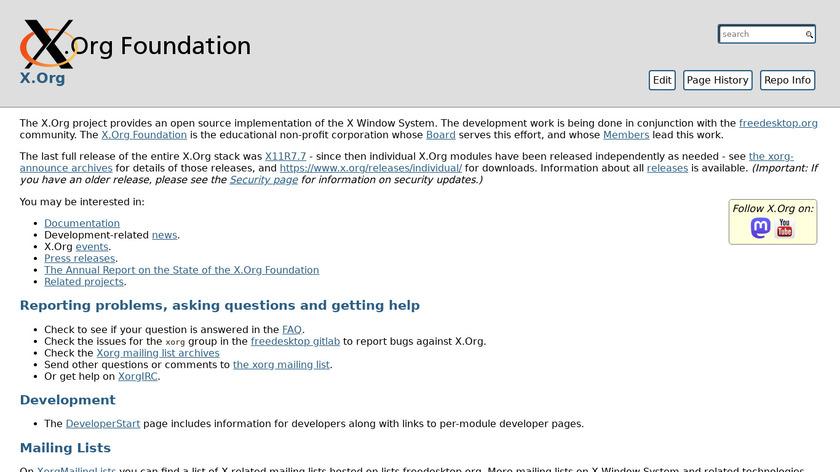 xmodmap Landing Page