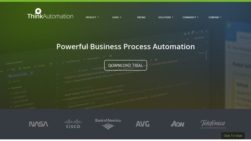 Email2DB Landing Page