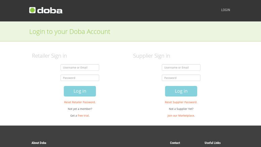Doba Landing Page