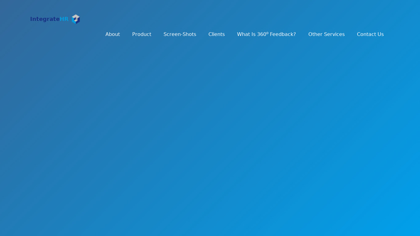 Integrate360 Landing Page