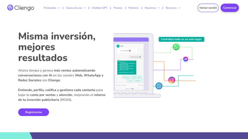 Cliengo Landing Page