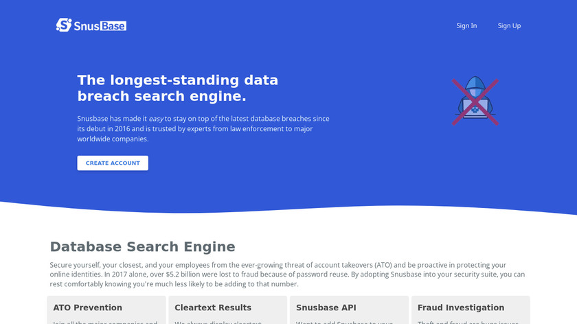Databases.today Landing Page