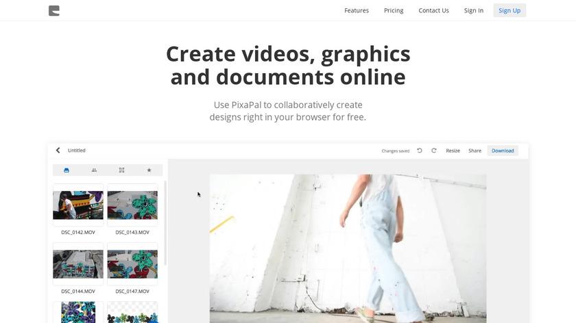 PixaPal Landing Page