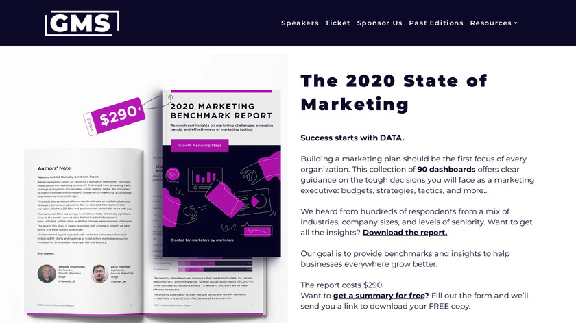 The 2019 State of Marketing Landing Page