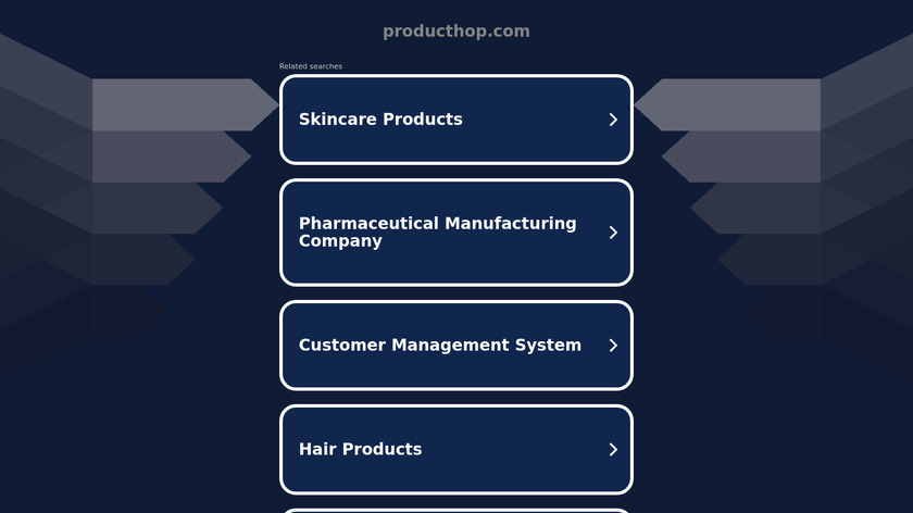ProductHop Landing Page
