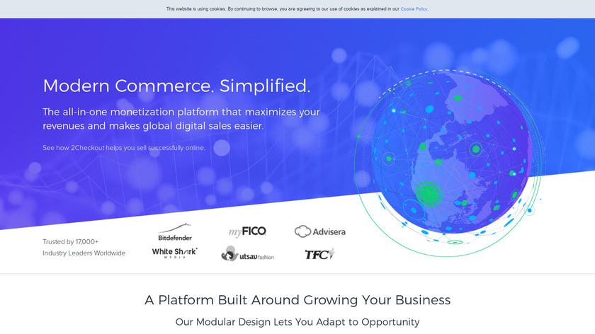 Isobuster Landing Page