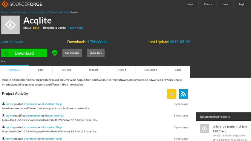 Acqlite Landing Page