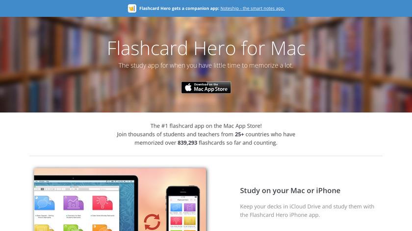 Flashcard Hero Landing Page