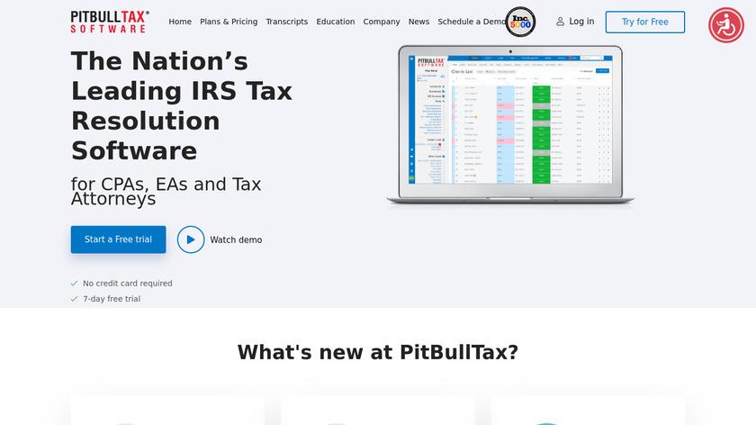 PitBullTax Landing Page