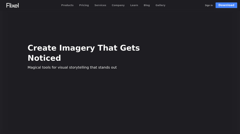 Cinemagraph Pro Landing Page
