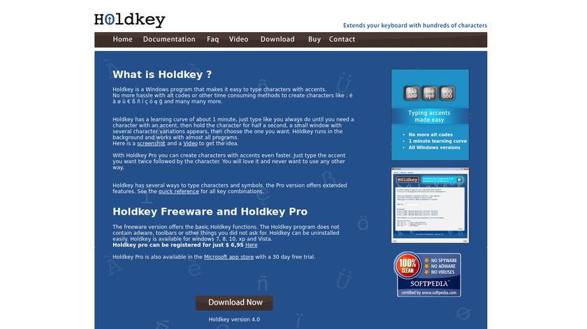 Holdkey Landing Page