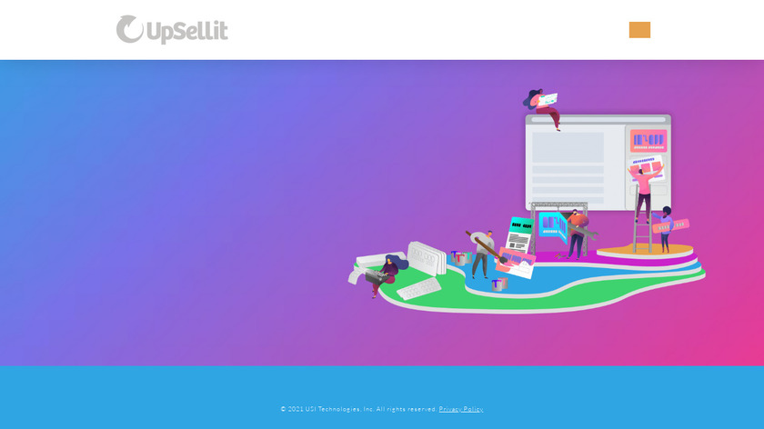 UpSellit Landing Page