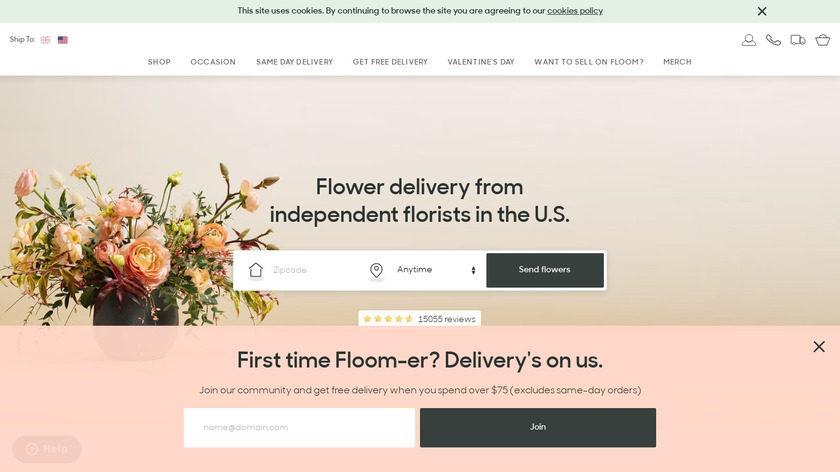 Floom Landing Page