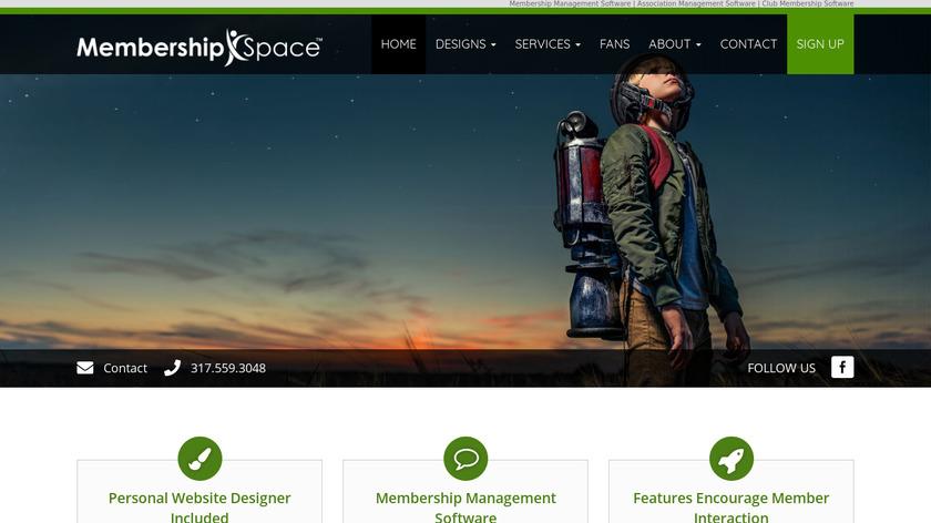 Membership Space Landing Page