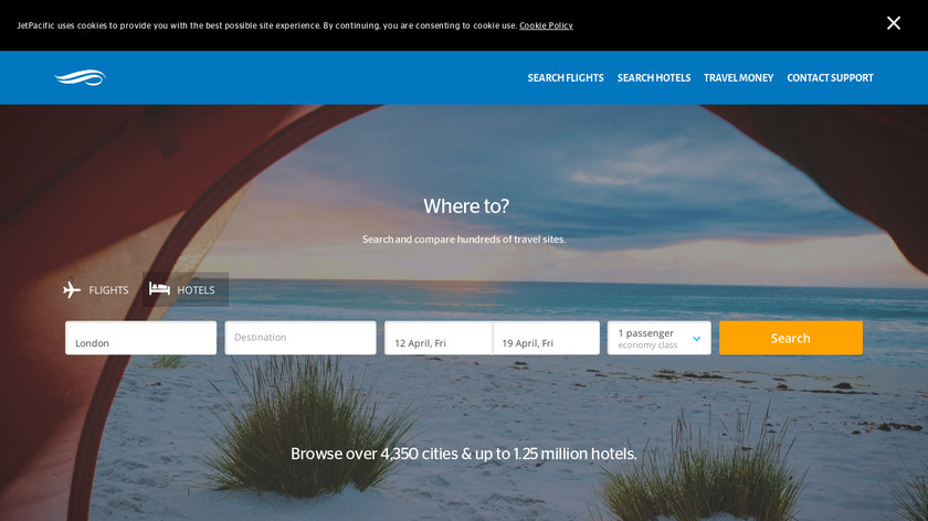 JetPacific Landing Page