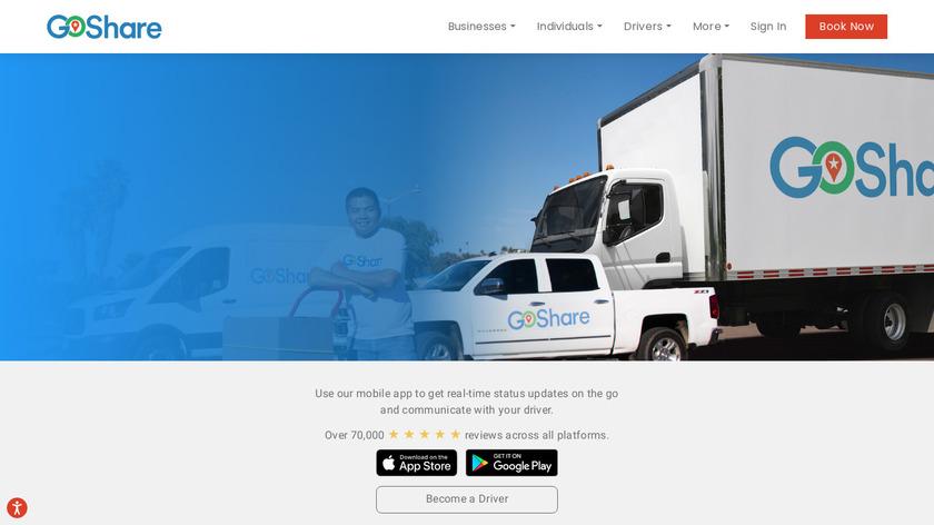 GoShare Landing Page