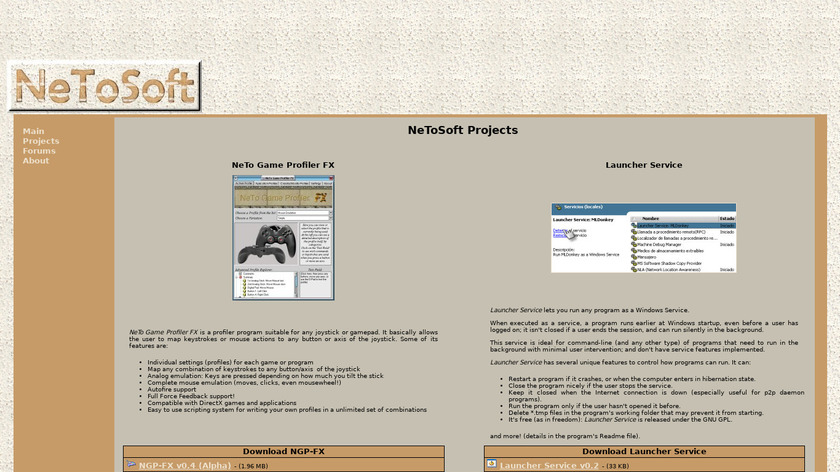 Launcher Service Landing Page
