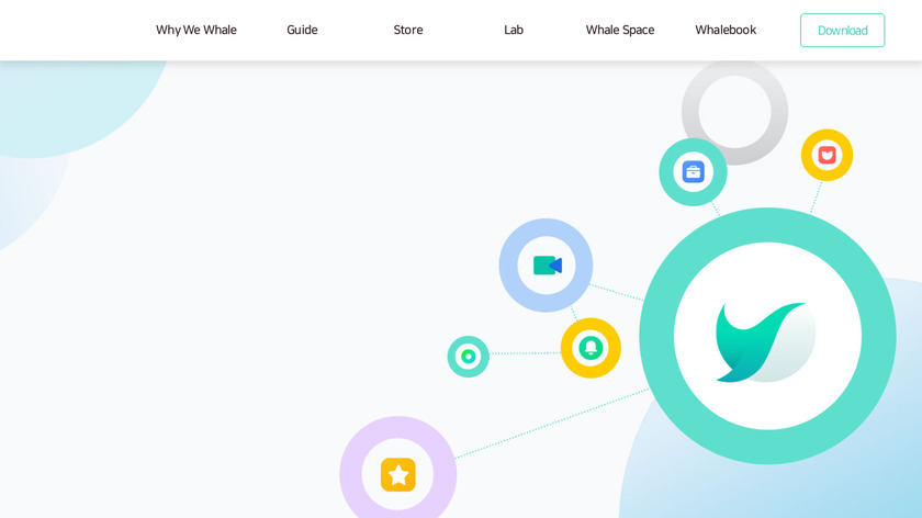 Whale Landing Page
