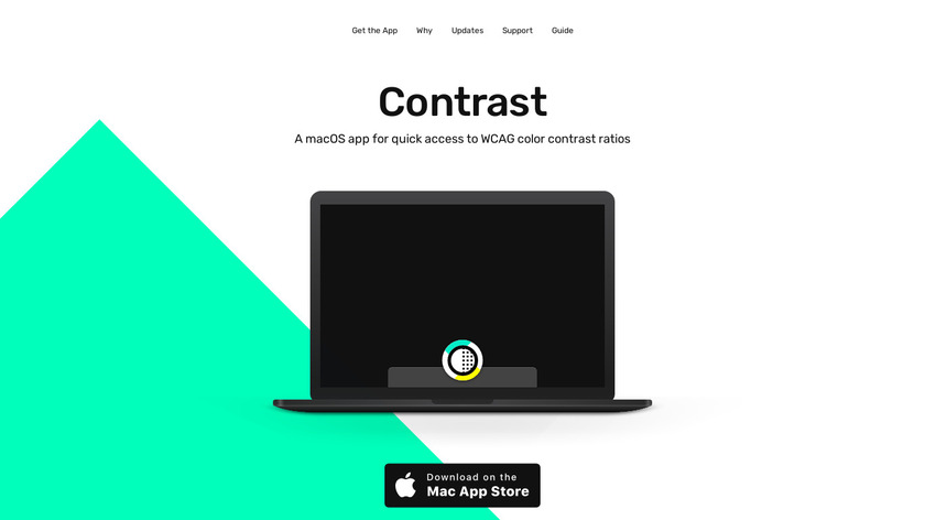 Contrast Landing Page