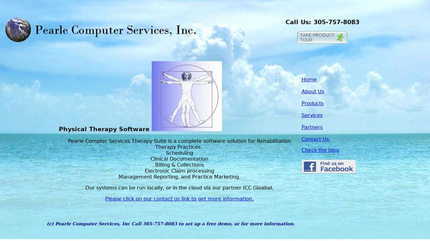 Physical Therapy Suite Landing Page