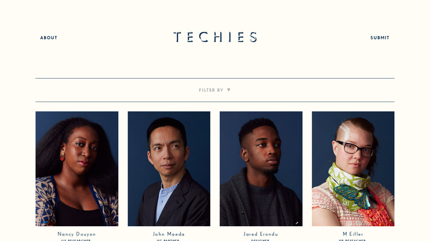 Techies Project Landing Page