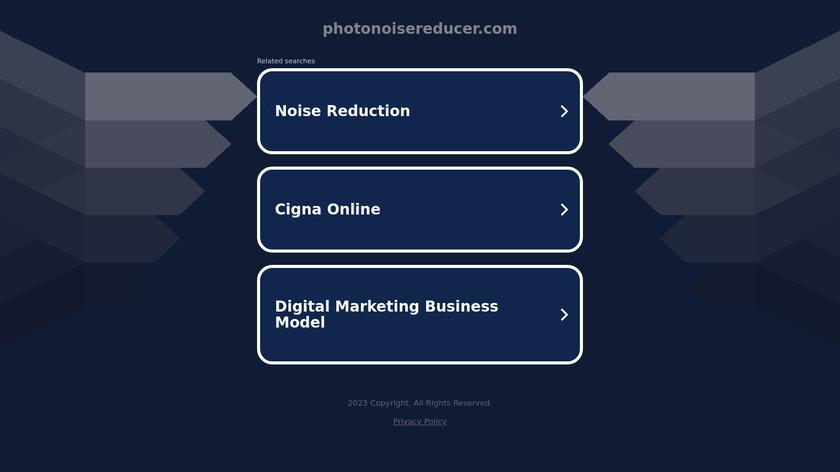 Systweak Photo NoiseReducer Pro Landing Page