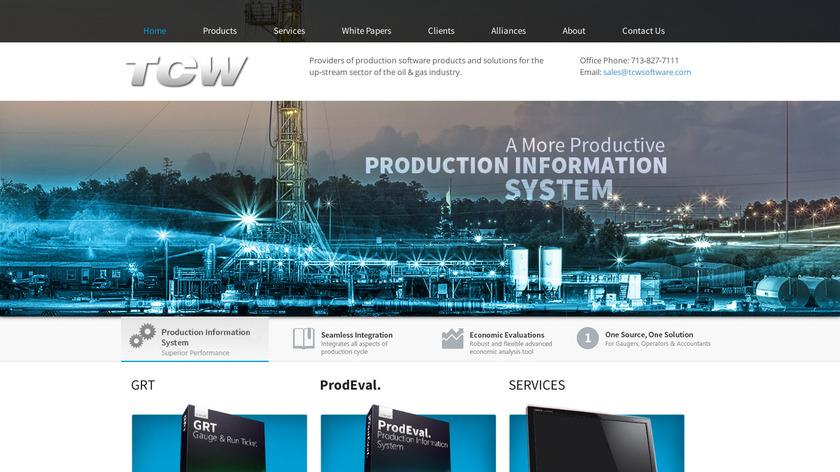 ProdEval Landing Page