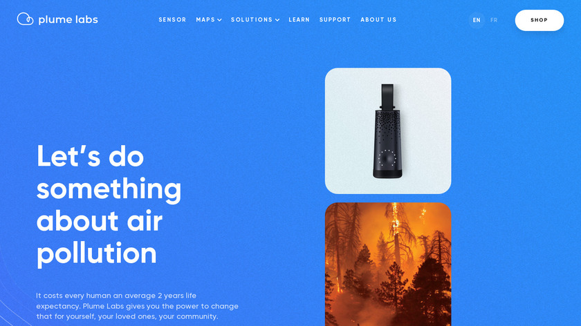 Flow by Plume Labs Landing Page
