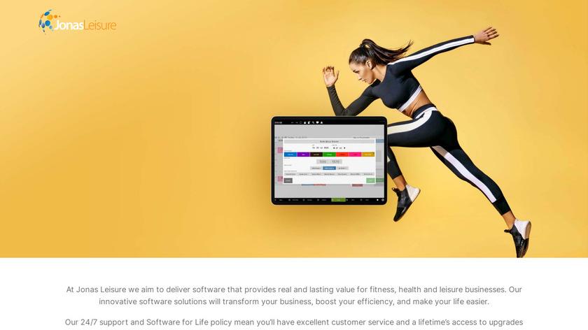 Jonas Leisure Landing Page