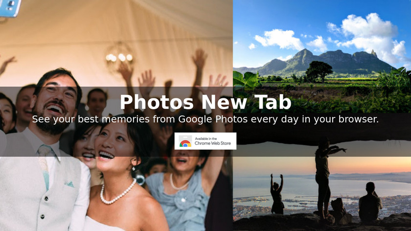 Photos New Tab Landing Page