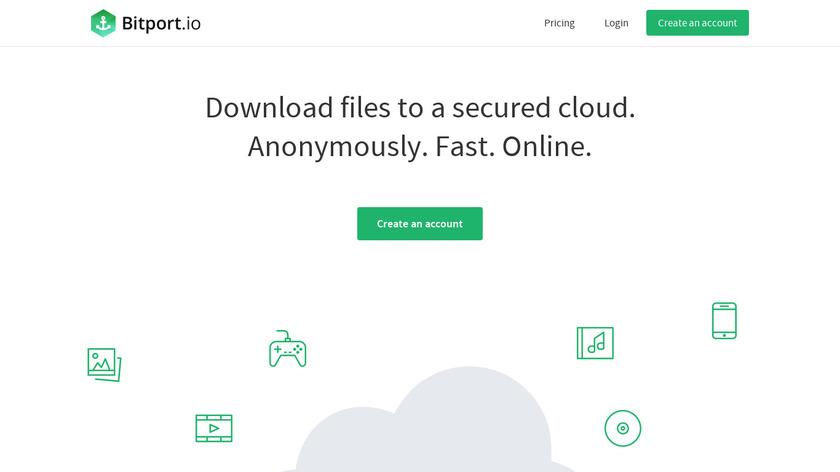 Bitport Torrents Landing Page