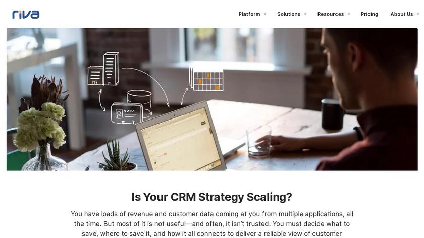 Riva CRM Integration Landing Page