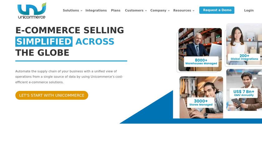 UniCommerce Landing Page
