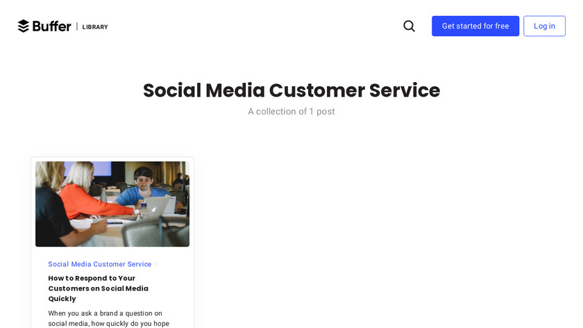 Customer Support Academy Landing Page