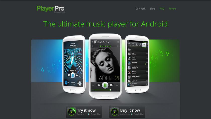 PlayerPro Landing Page