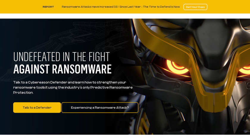 RansomFree Landing Page