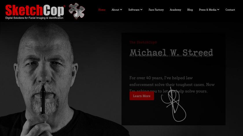 Sketchcop Landing Page