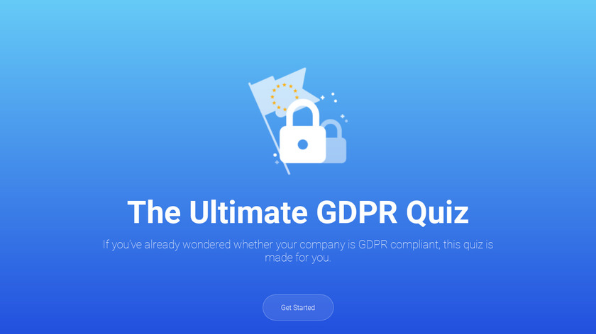 The Ultimate GDPR Quiz Landing Page