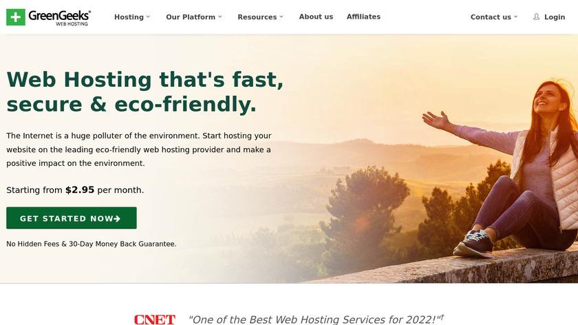 GreenGeeks Landing Page