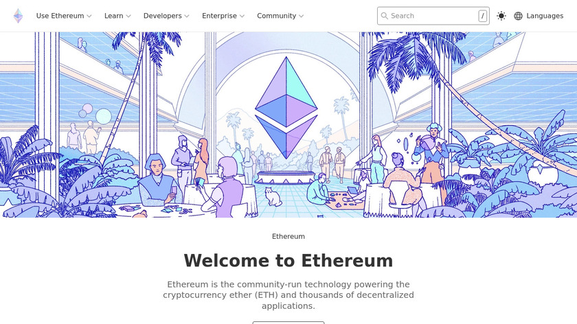 Ethereum Landing Page