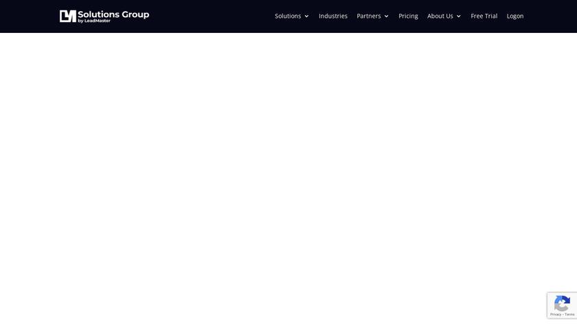 LeadMaster Landing Page