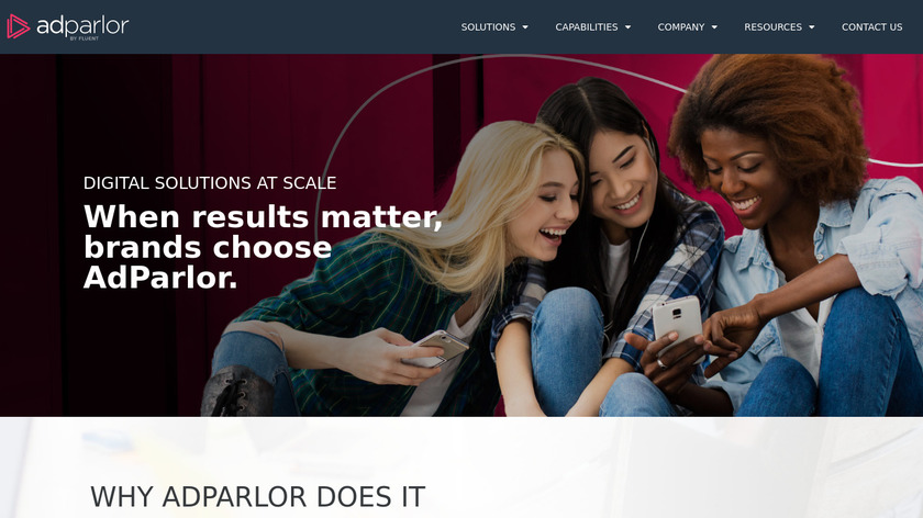 AdParlor Landing Page