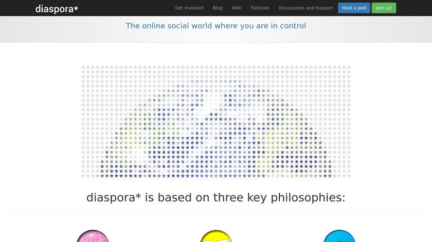 Diaspora Landing Page