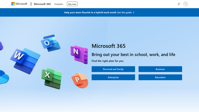 Microsoft Office 365 Landing Page