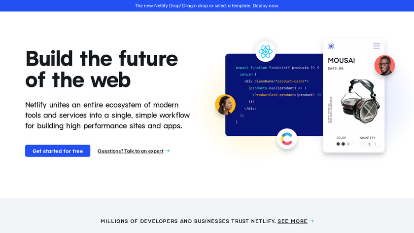 Netlify Landing Page