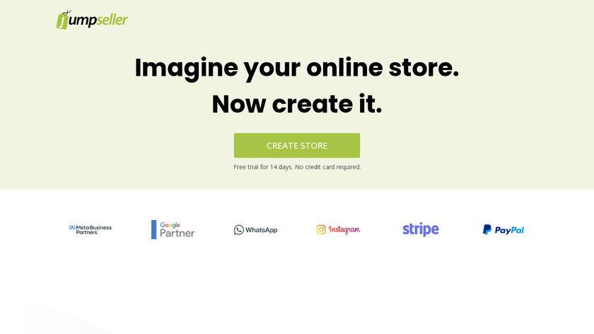 Jumpseller Landing Page