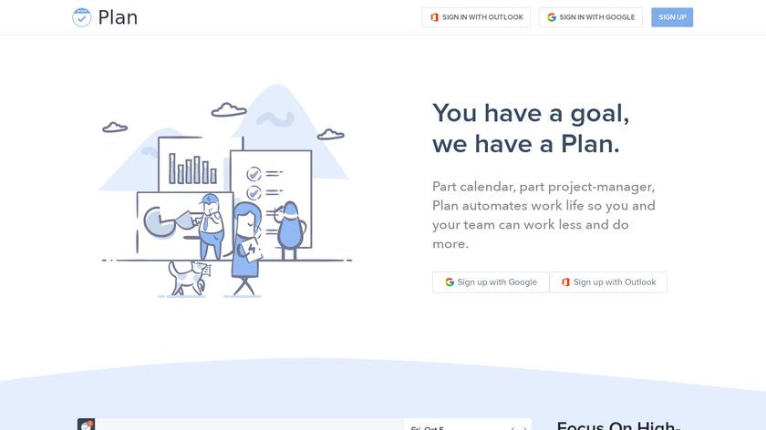 Plan Landing Page