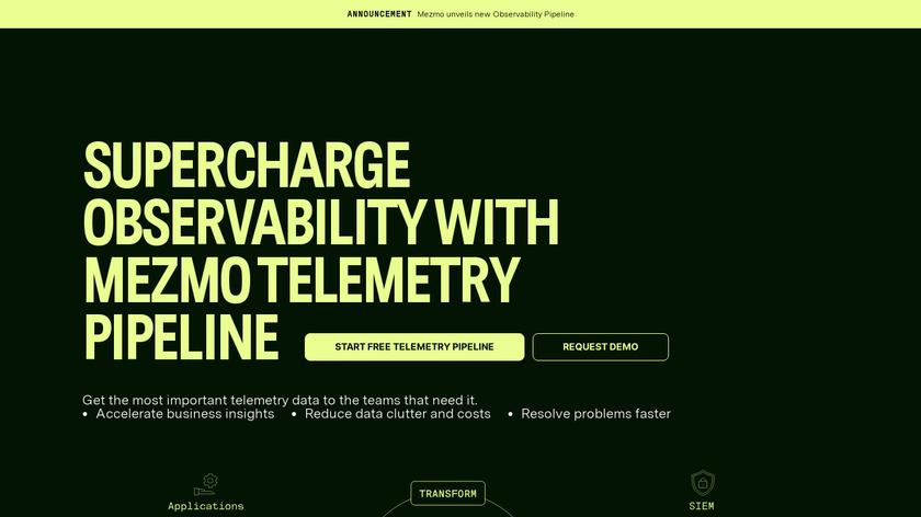 LogDNA Landing Page