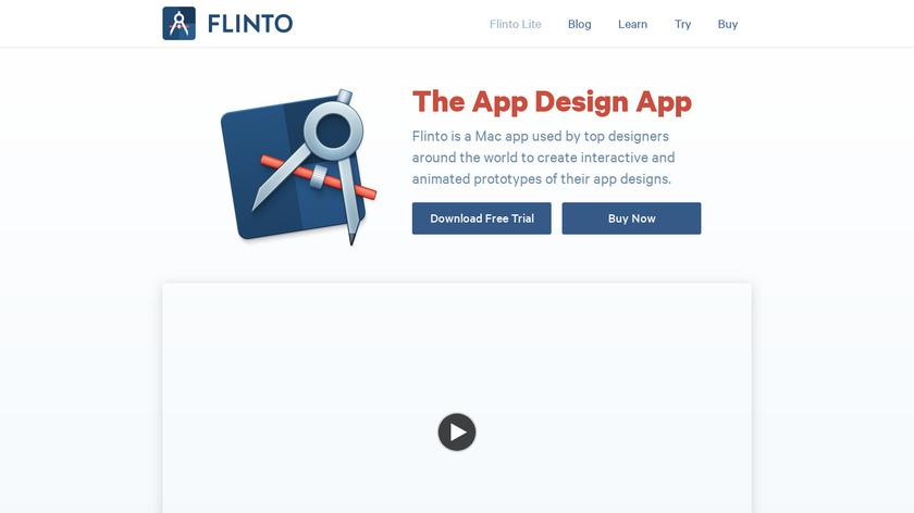 Flinto Landing Page